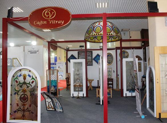 Çağın Vitray İstanbul Fuarı