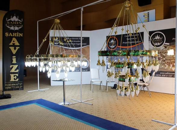 Şahin Cami Avizeleri Antalya Fuarı