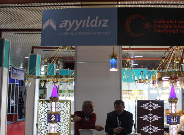 Ayyıldız Avize İstanbul Fuarı