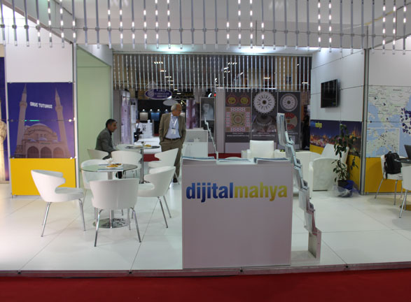 Dijital Mahya İstanbul Fuarı