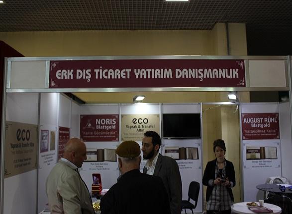 Erk Dış Ticaret Yatırım Danışmanlık İstanbul Fuarı