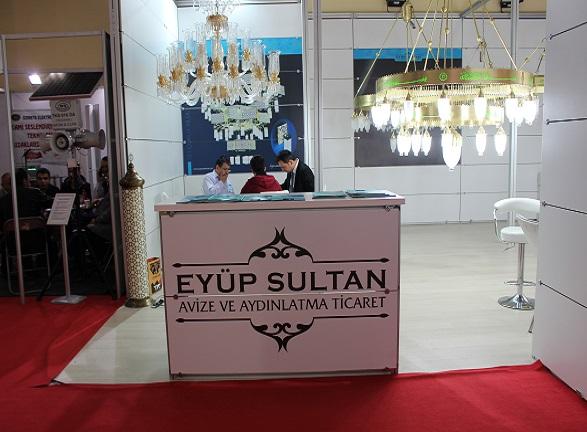 Eyüp Sultan Avize İstanbul Fuarı