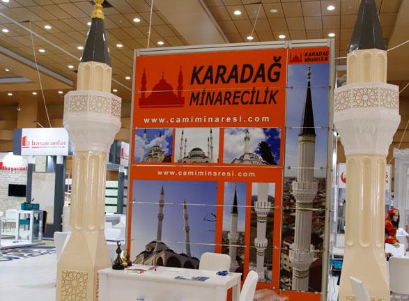 Karadağ Minarecilik Antalya Fuarı
