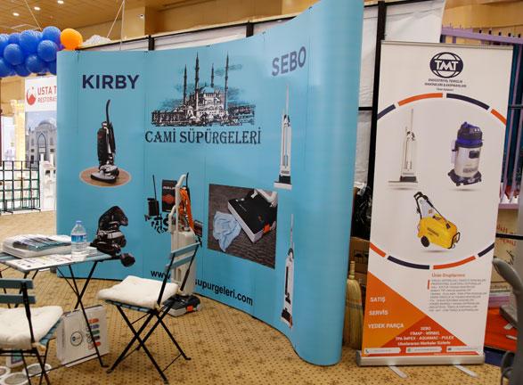 Kirby Cami Süpürgeleri Antalya Fuarı