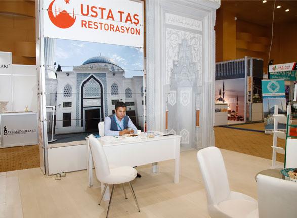 Usta Taş Dekorasyon Antalya Fuarı